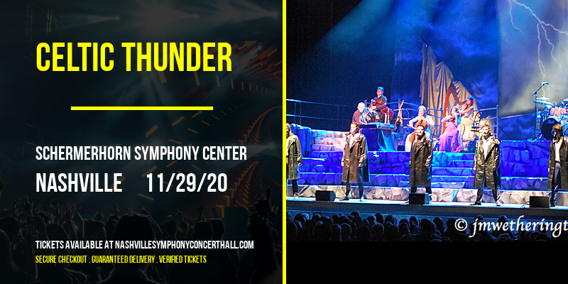Celtic Thunder [POSTPONED] at Schermerhorn Symphony Center