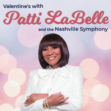 Patti LaBelle & The Nashville Symphony at Schermerhorn Symphony Center