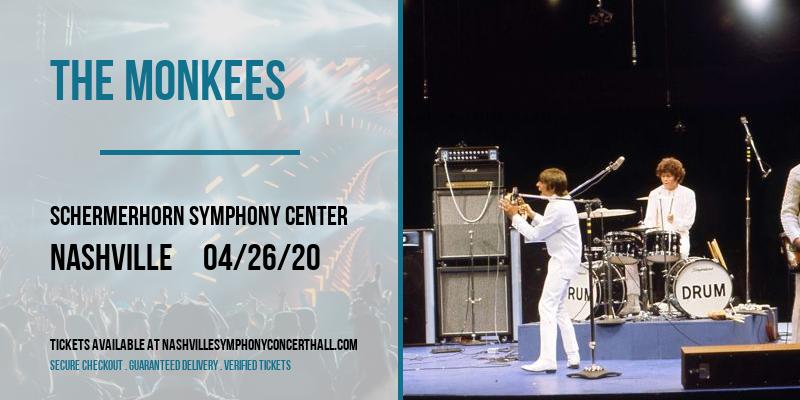 The Monkees at Schermerhorn Symphony Center