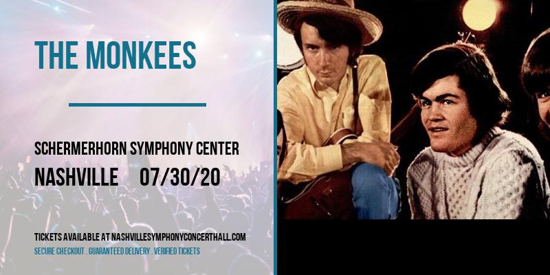 The Monkees [POSTPONED] at Schermerhorn Symphony Center