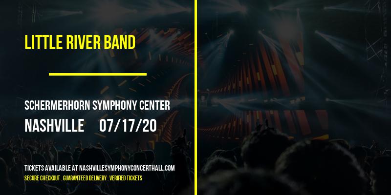Little River Band [POSTPONED] at Schermerhorn Symphony Center